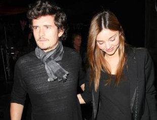 Miranda Kerr Orlando Bloom Pas fiancés