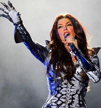 Fergie en concert Italie Photo