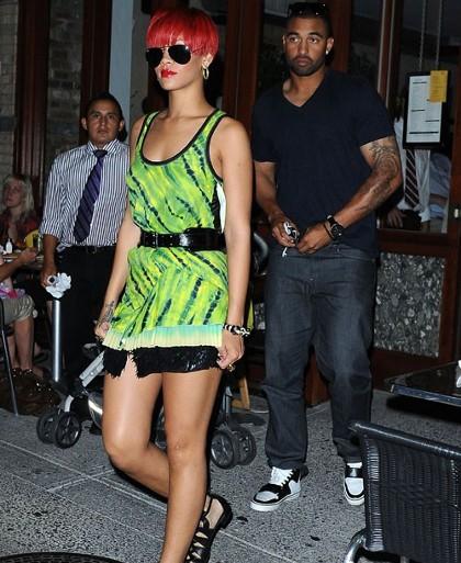 Rihanna Matt Kemp Photos