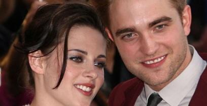 Robert Pattinson Kristen Stewart baiser