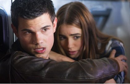 Taylor Lautner Lily Collins Abduction