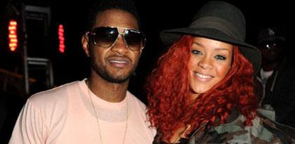 Rihanna- Sa relation avec Usher démentie