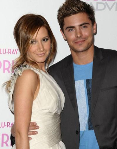 Zac Efron et Vanessa Hudgen à la soirée d'Ashley Tisdale