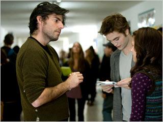 Chris Weitz Robert Pattinson Kristen Stewart