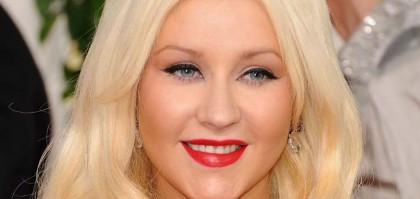 Christina Aguilera porte étendard des rondes