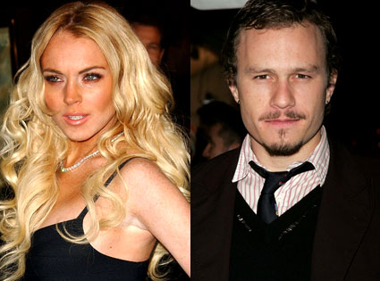 Lindsay Lohan- Heath Ledger homme de ma vie