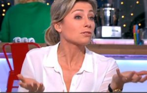 Anne-Sophie Lapix malaise Isabelle Balkany