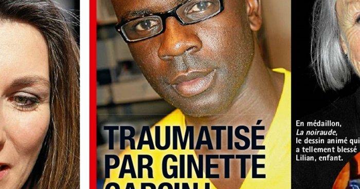 Lilian Thuram traumatise Ginette Garcin