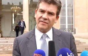 Arnaud Montebourg Carambar