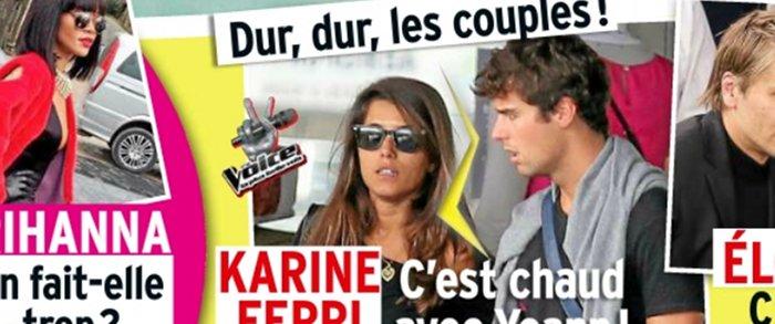 Karine Ferri Yoann Gourcuff separes Public