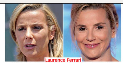 Laurence Ferrari sans maquillage