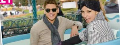 Rayane Bensetti et Denista Ikonomova,  Disneyland