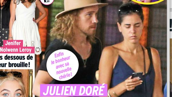 Julien Doré en couple avec Vanessa selon Public. Un bébé serait au programme