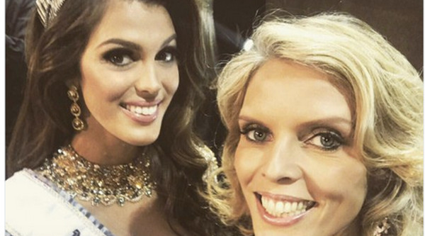 best supplier detailed images utterly stylish Iris Mittenaere élue Miss Univers 2017 - Sylvie Tellier ...