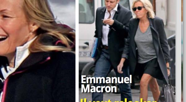 Em ma nuel macron s inqui te du style de son pouse - Laurent bignolas et son epouse ...