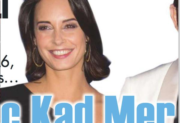 Julie Vignali enceinte de Kad Merad  selon Ici Paris