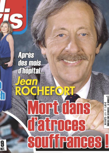 jean rochefort mort dans d atroces souffrances selon ici paris qui voque un cancer. Black Bedroom Furniture Sets. Home Design Ideas