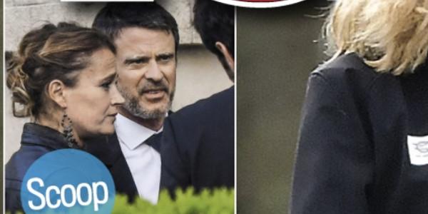 Manuel Valls et Olivia Grégoire immortalisés dans VSD