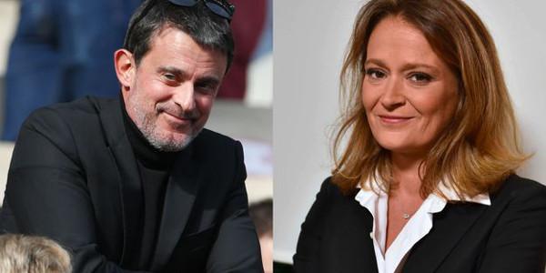 Manuel Valls en couple avec Olivia Grégoire