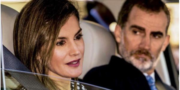 Letizia d'Espagne provoque la colère de son mari  Felipe VI (photo)