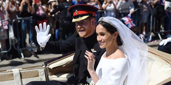 Elisabeth II a apprécié le mariage de Meghan et Harry