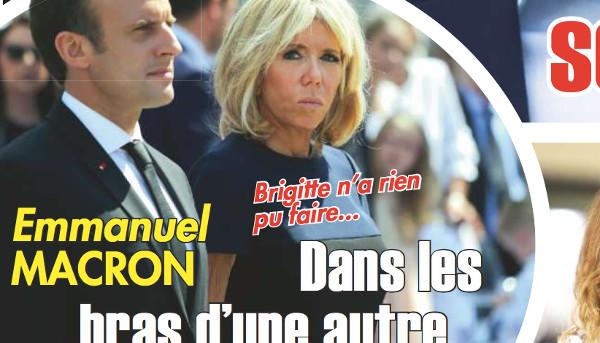 Brigitte Macron déçue de voir son mari avec une autre  (photo)
