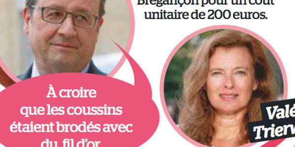 François Hollande envoie un scud à Valérie Trierweiler