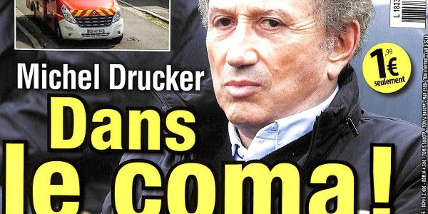 Michel Drucker dans le coma (photo)