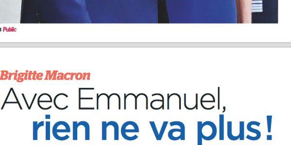 Brigitte Macron, avec Emmanuel, rien ne va plus