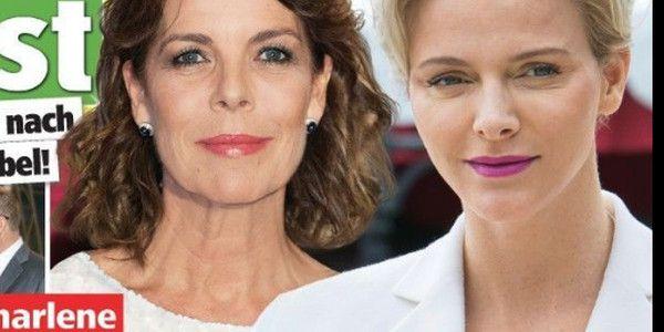 Charlène de Monaco, «encore rejetée» par sa belle-soeur, Caroline (photo)