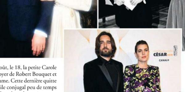 Dimitri Rassam et Charlotte Casiraghi heureux, leur mariage et le baptême  de Balthazar au même temps