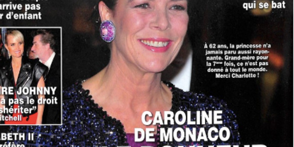 Caroline de Monaco encore grand-mère,  merci Charlotte Casiraghi ! (photo)