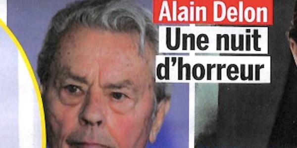 Alain Delon, «une nuit d'horreur»