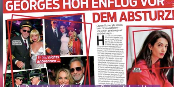 George Clooney flirte avec d'autres femmes ! Amal enrage (photo)