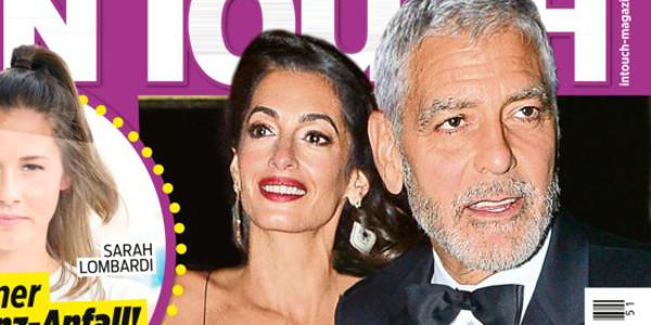 Amal et George Clooney sauvent leur couple, un bébé par mère porteuse au programme