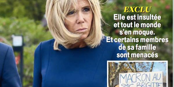 Brigitte Macron insultée et harcelée,  son mari s'en moque !