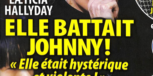 Laeticia Hallyday battait Johnny, elle était hystérique et violente (photo)