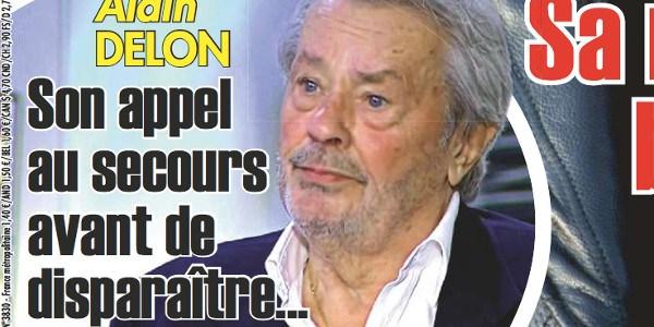 Alain Delon, de tristes nouvelles, il vit seul avec son chien