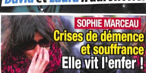 Sophie Marceau, crise de démence et souffrance, elle vit l'enfer