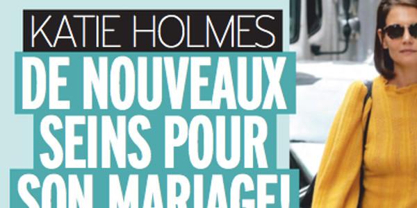 Katie Holmes, de nouveaux seins pour son mariage avec Jamie Foxx, (photo)