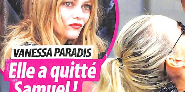 Vanessa Paradis lassée,  elle a quitté Samuel Benchetrit