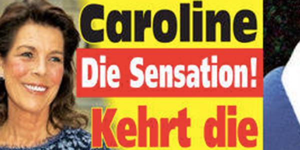 Caroline de Monaco, sensationnel, le sourire grâce un autre homme !