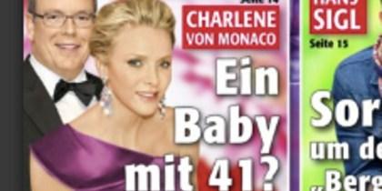 charlène de monaco enceinte à 41 ans