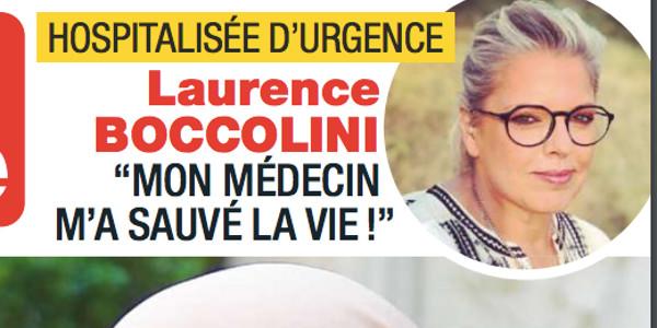 Laurence Boccolini hospitalisée d'urgence, la cause précisée, triste confession