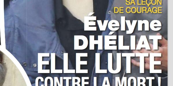 A 71 ans, Evelyne Dhéliat, sa leçon de courage, elle lutte contre la mort (photo)