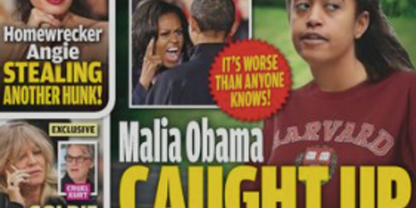 Malia Obama, terrible scandale à Harvard, Barack Obama et Michelle humiliés (photo)