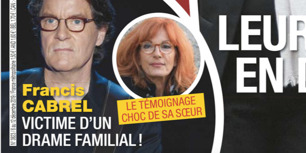 """Résultat de recherche d'images pour """"Francis Cabrel avec sa soeur"""""""