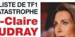 """Anne-Claire Coudray « naufrage""""  sur TF1  - """"Habitée"""" par une terrible angoisse"""