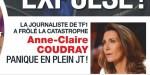 Anne-Claire Coudray, panique en plein JT, elle a frôlé la catastrophe