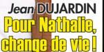 """Jean Dujardin, """"provoque"""" Nathalie Péchalat - une célèbre actrice sème le trouble"""